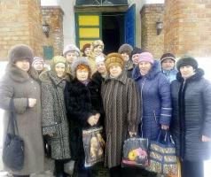 Волонтеры БФ Александра Романовского помолились за мир и добро
