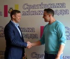 Дмитрий Романенко и Александр Романовский обсудили вопрос восстановления жилья в частном секторе Сватово