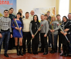 В БФ Александра Романовского поздравили победителей конкурса «Идеальные пары Рубежного»