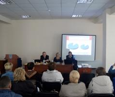 Волонтеры БФАР приняли участие  в обсуждении итогов выполнения бюджета охраны здоровья в 2015 году в Луганской области