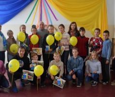 Мы поздравляем победителей конкурсов детского творчества ко Дню мира, который состоялся 21 сентября в школе №5 города Рубежное
