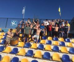 Александр Романовский вновь помог болельщикам «Зари» поддержать команду в выездном матче