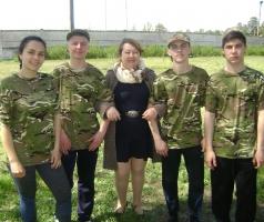 БФ Александра Романовского в Рубежном помог в организации патриотической игры «Сокол» (