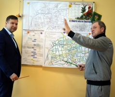 Александр Романовский и Евгений Рыбалко обсудили пути решения социальных вопросов Сватово