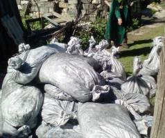 В Торецке волонтеры БФАР и Агентство ООН по делам беженцев продолжают выдачу угля