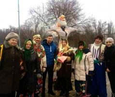 Волонтеры БФ Александра Романовского устроили для рубежан праздник Масленицы