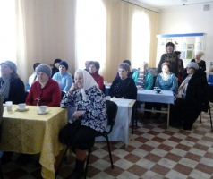 Благотворительный фонд Александра Романовского собрал ветеранов города отметить день освобождения Рубежного