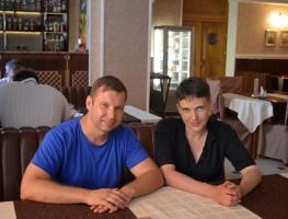 Александр Романовский встретился с народным депутатом Надеждой Савченко